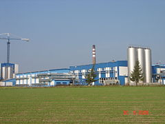 The dairy in Mońki.JPG