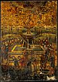The fountain of life. Oil painting by a Greek painter. Wellcome V0017495.jpg