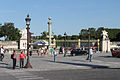 The gate of the Tuileries Garden, Paris 12 June 2014.jpg