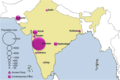 The geographical population distribution of modern and ancient Parsi.png