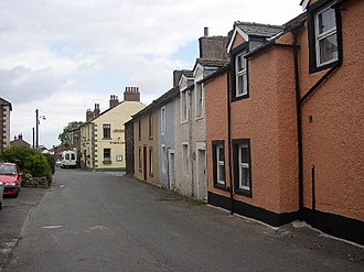 Mais (Bowness) - Village centre of Bowness-on-Solway, and site of Maia