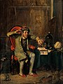 The phrenologist. Oil painting by Theodore Lane. Wellcome V0017701.jpg
