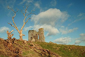 Thirlestane Castle - Maitland's original peel tower (Old Thirlestane Castle