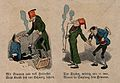 The story of a man with toothache, his attempts at self Wellcome V0012098.jpg