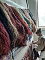 The woman making a carpet.jpg
