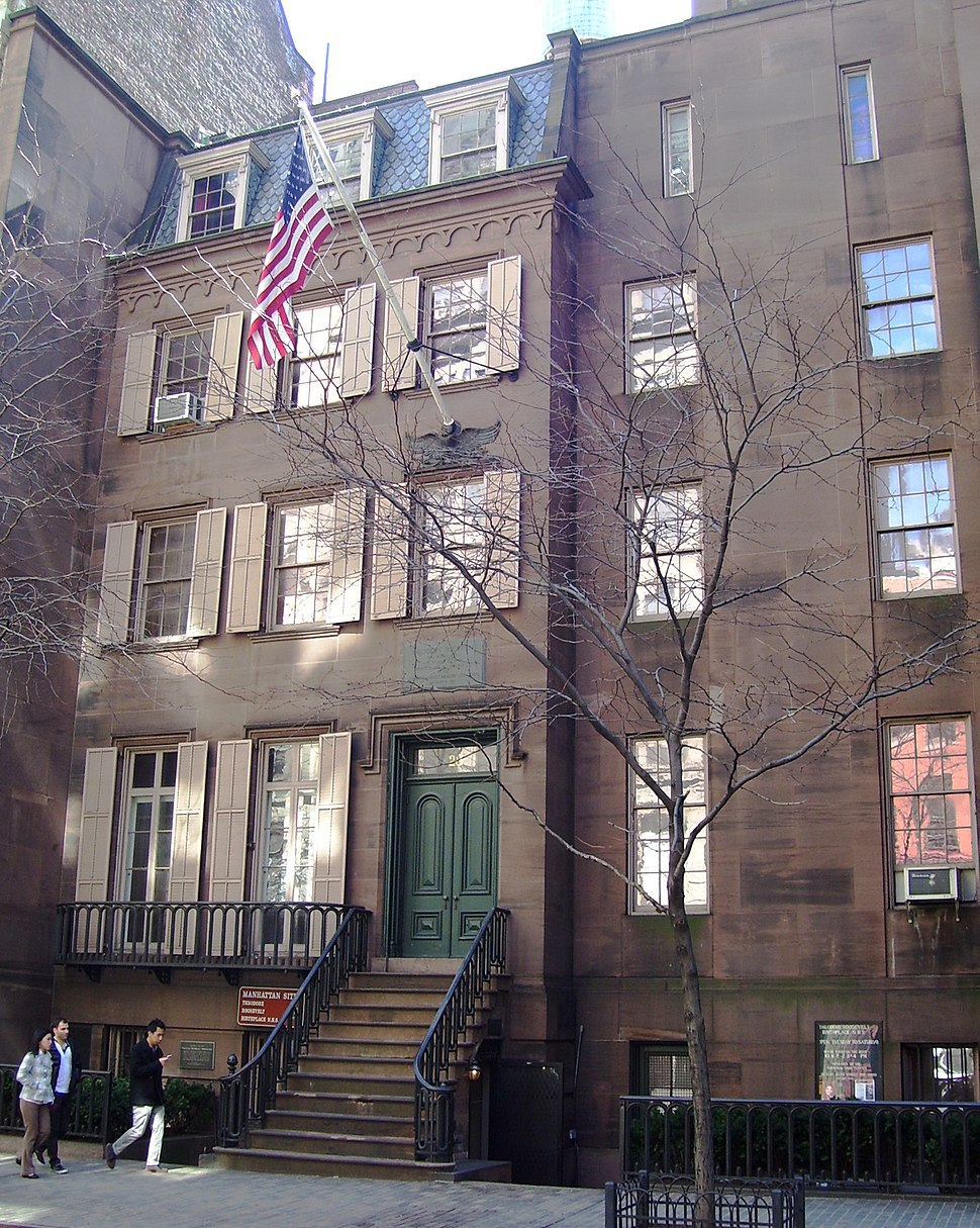 Theodore Roosevelt Birthplace from west
