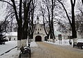 Theodore Stratelates church in Alexandrov, inside 01 (winter 2014) by shakko.JPG
