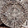 There were rows upon rows of vendors all around Chechen Itza, selling all kinds of Maya-themed artifacts, including these circular riffs on the Mayan calendar. - Flickr - theilr.jpg