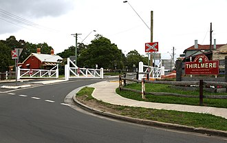 Thirlmere, New South Wales - Eastern entrance to township, 2011