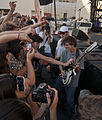 Thomas Fekete (Surfer Blood) Thank You For Playing Guitar With Me - Playhouse District Eclectic Stage, Make Music Pasadena 2014 (2014-06-07 by Ian T. McFarland).jpg
