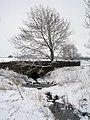 Thorsgill Beck passes under West Lane - geograph.org.uk - 1719266.jpg