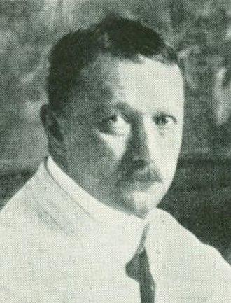 Thorvald Jørgensen - Sophus Frederik Kühnel, c. 1911