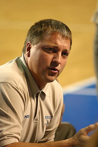 Estonia men's national basketball team - Tiit Sokk, the current Estonia coach.