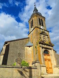 Tilly-sur-Meuse L'église Saint-Saintin.JPG