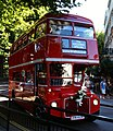 Timebus Travel Routemaster bus RM29 (OYM 453A), Bayswater, London, 4 August 2007 (1), cropped.jpg