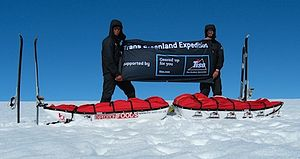 Alex Hibbert - The completion of the 113-day Tiso TransGreenland