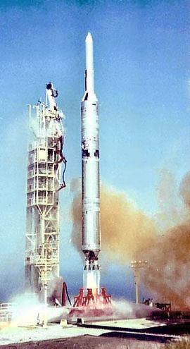 Image result for titan IIIB agena last launch