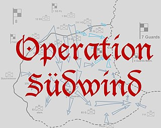 Operation Southwind 1945 German offensive in Nitra Region, Hungary