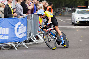 2014 Tour of Britain - Dylan Van Baarle during stage 8a