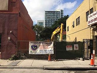 Tobacco Road (bar) - Image: Tobacco Road Miami demolition 2014