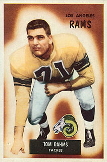 Tom Dahms American football player and coach