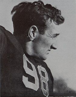 Tom Harmon American football player, announcer