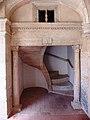 Tomar, Convento de Cristo, Claustro de Santa Bárbara, escada.jpg