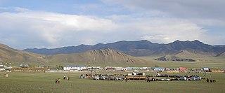 Tömörbulag, Khövsgöl District in Khövsgöl Province, Mongolia
