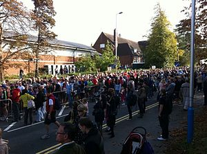 Tonbridge Half Marathon - Masses at the Start