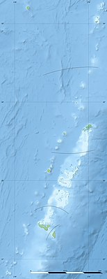 Location map Tonga