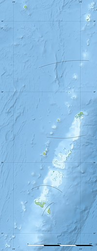 Tofua Caldera is located in Tonga