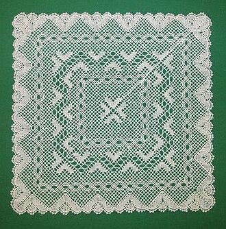 Torchon lace - Image: Torchon Lace (p 22 T5)