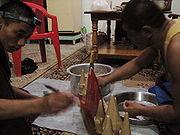 Torma making