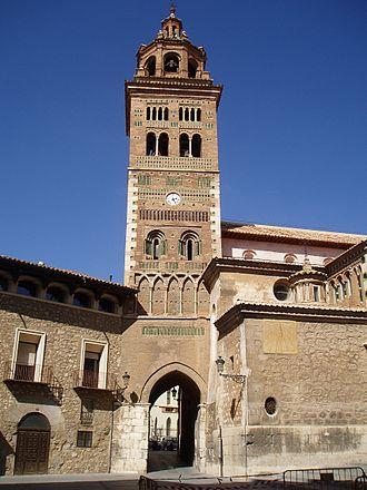 Bell tower - Image: Torre de la Catedral de Teruel