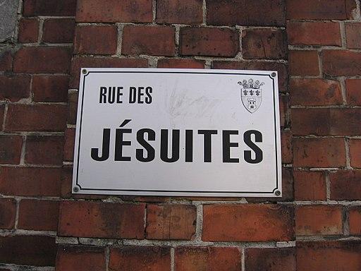 Tournai, rue des jésuites