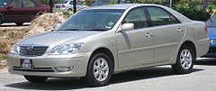 A post-2004 facelift fifth generation Camry in Malaysia.
