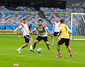 Training Germany national team before the match against Brazil at the FIFA World Cup 2014-07-07 (9).jpg