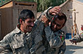 Training trainers, Afghan police lifesavers practice medical skills to teach to comrades 131022-Z-SW098-084.jpg