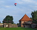 Trakai Peninsula Castle and balloon.jpg