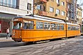 Tram in Sofia near Central mineral bath 2012 PD 008.jpg