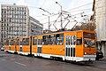 Tram in Sofia near Macedonia place 2012 PD 048.jpg