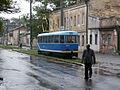 Tram stop in Slobidka, Odessa.jpg