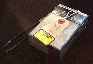 Watergate scandal - Transistor radio used in the Watergate break-in