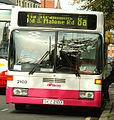 Translink Metro bus 2103 Mercedes Benz O405 DCZ 2103 in Belfast 3 October 2008 crop.jpg