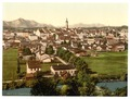 Traunstein, general view, Upper Bavaria, Germany-LCCN2002696300.tif