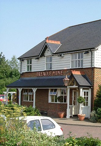 Treacle mining - The Treacle Mine public house in Thurrock, Essex.