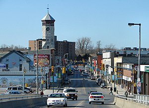 Trenton, Ontario - Dundas Street, the main road in Trenton