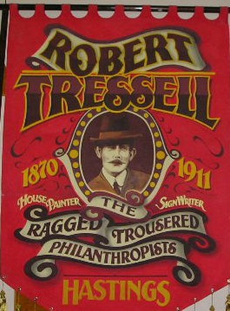 Social novel - Robert Tressell banner