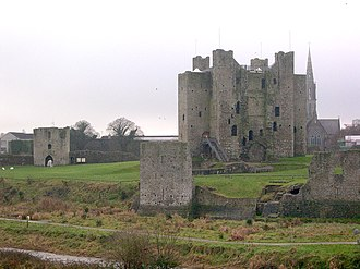 Normans - Norman keep in Trim, County Meath