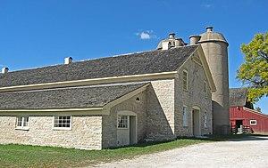 Trimborn Farm - Trimborn limestone barn